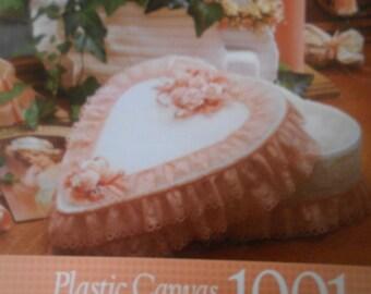 Plastic Canvas Calendar 1991, Needlecraft Shop, Pattern Leaflet #CP91, 1991