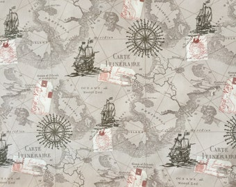 World map skirt vintage map print fabric pleated skirt knee map fabric by the yard world map fabric vintage map print fabric grey gumiabroncs Image collections