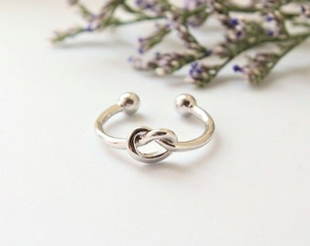 Will You Be My Bridesmaid Gift Silver Infinity Ring Knot Ring Promise Ring  Knot Eternity Ring Friendship Ring Tie the Knot Bridesmaid Gift