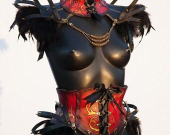 Leather harness Burning man