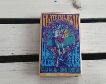 Oak Dugout One Hitter-/-Grateful Dead Concert Poster