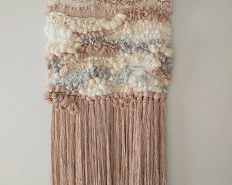 Peach and blush weaving