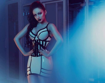 Adria Skirt - Latex