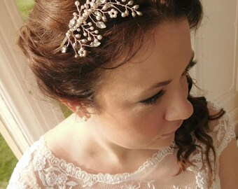 "Bridal Tiara - ""Hazel"""