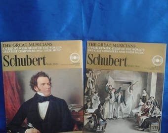 Schubert Part 1 & 2, Study of Great Composers