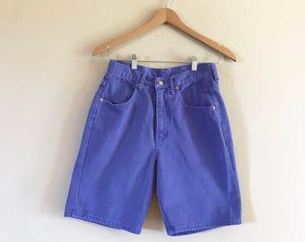 Purple high waisted shorts – Etsy
