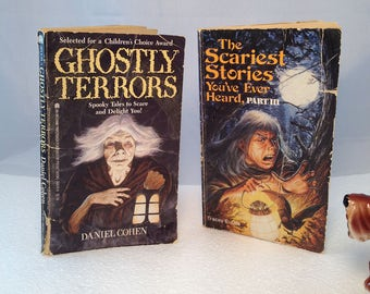 Kid's Scary Stories Ghost Books Two Scary Story Books Horror Novels Ghostly Terrors Cohen Scariest Stories You've Ever Heard Tracey E Dils