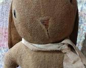 Extreme Primitive Rabbit doll Rabbit Easter bunny Rustic Faap Hafair Team Haha