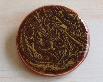 Handmade Resin Brooch | Contemporary Wearable Art | Resin Art