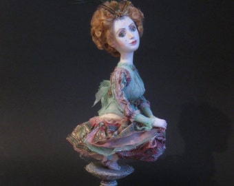 OOAK Art Doll  Dragonfly