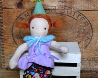 Party Pocket Pixie Waldorf Style Doll