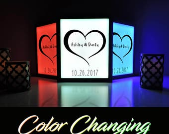 Love, Wedding Date, Love Art, Love Light,  Love Decor, Custom Wedding Date Sign, Illuminated Sign, Love sign, Light Up Sign, LED Art