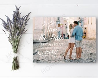 Personalised Printable, Save-the-Date-Printable Card - Jessy Collection