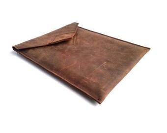 Leather iPad Case. Leather iPad 3 Sleeve iPad 2 Case. Leather Tablet Case. iPad 4. Leather Cases. Gift Ideas. Brown Leather. Vintage Leather