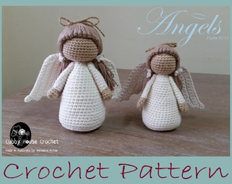 Angel Crochet Pattern 2 PDF 's English and Swedish Cubby House Crochet