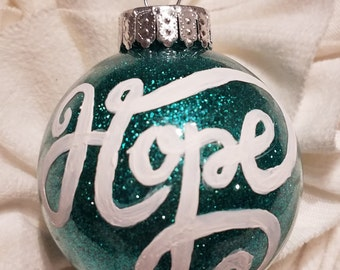 "Christmas Ornament - ""Hope"""