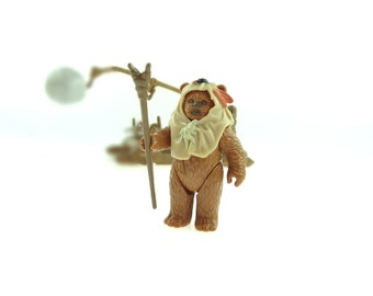 Paploo Star Wars Last 17 Action Figure Ewok 1984