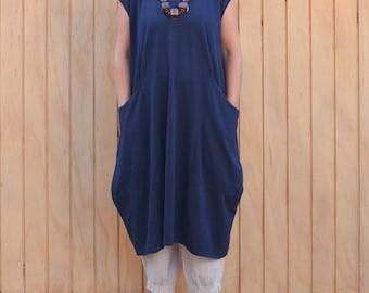 Womens Lagenlook Plus Size Tunic Dress Parachute Boho Quirky Cap Sleeve UK 16 18 20 22 24 26 28 30/US 12 14 16 18 20 22 24 26 28 XL 8689