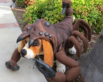 Big Brown Scorpion costume for Dogs by TKC Cozy Pawz (XL)