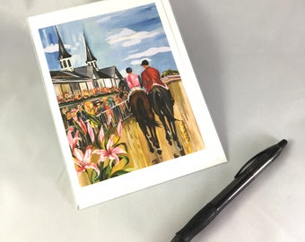 Kentucky Oaks 2017 Greeting Card