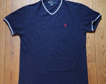 Blue Polo by Ralph Lauren V colar size S / M