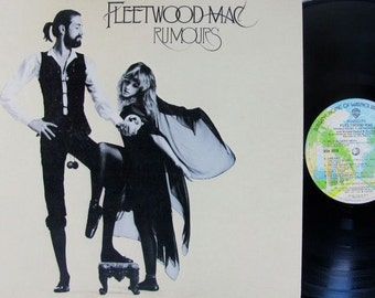 Fleetwood Mac - Rumours - Vinyl Record LP Original 1970's Rare & in Excellent Condition!