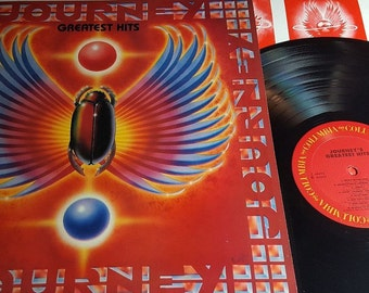 """Journey """"Greatest Hits"""" 1988 - Long OOP - Vinyl Record LP - Original - Excellent Shape - Free Shipping"""