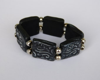 A nifty bracelet made from polymer CLAY