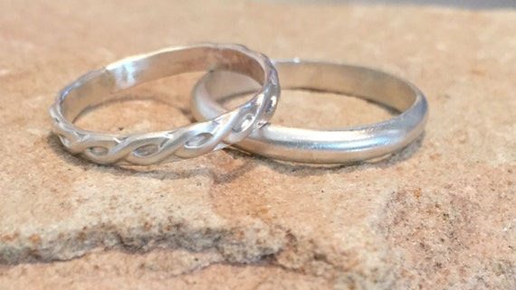 stackable sterling silver rings sterling silver bands