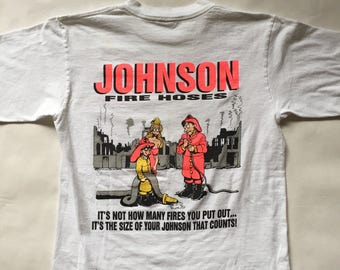 Vintage 90s Big Johnson T-Shirt