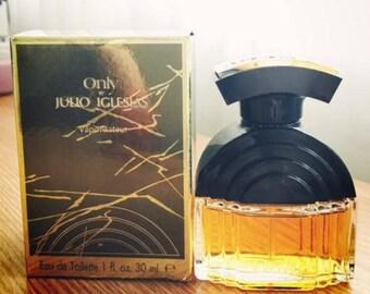 Only Julio Iglesias EDT 30ml/ 1 fl.oz, vintage rare collectible
