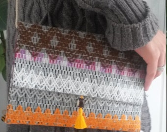 Small cloth (wool) with Drawstring Bag