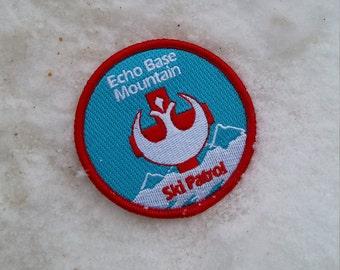 Thee Echo Base Mountain Rebellion Ski Patrol Patch