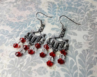 Chandelier Earrings. Gift for Her. Hand Made Jewelry