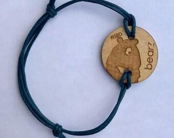 Fits Bearz bear necklace 2016 (Moon bear)