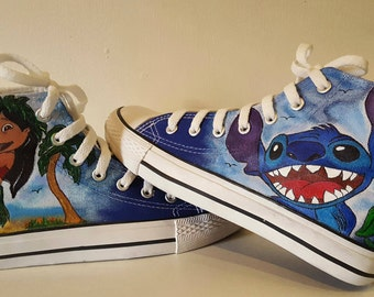 Lilo and Stitch custom shoes