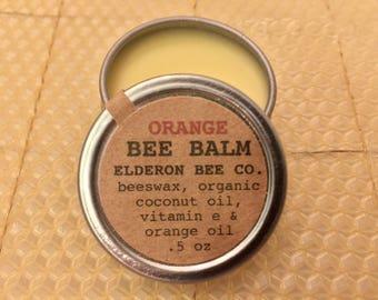 ORANGE BEE BALM // 100% natural // multipurpose // beeswax balm