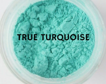 Mineral Eyeshadow Cruelty Free Vegan Mineral Makeup Turquoise Eye Shadow Natural Makeup Minerals Eyes Matte Eyeshadow Sparkle