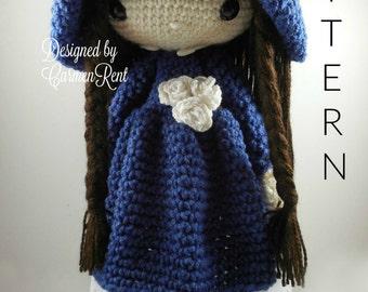 Matilda - Amigurumi Doll Crochet Pattern PDF