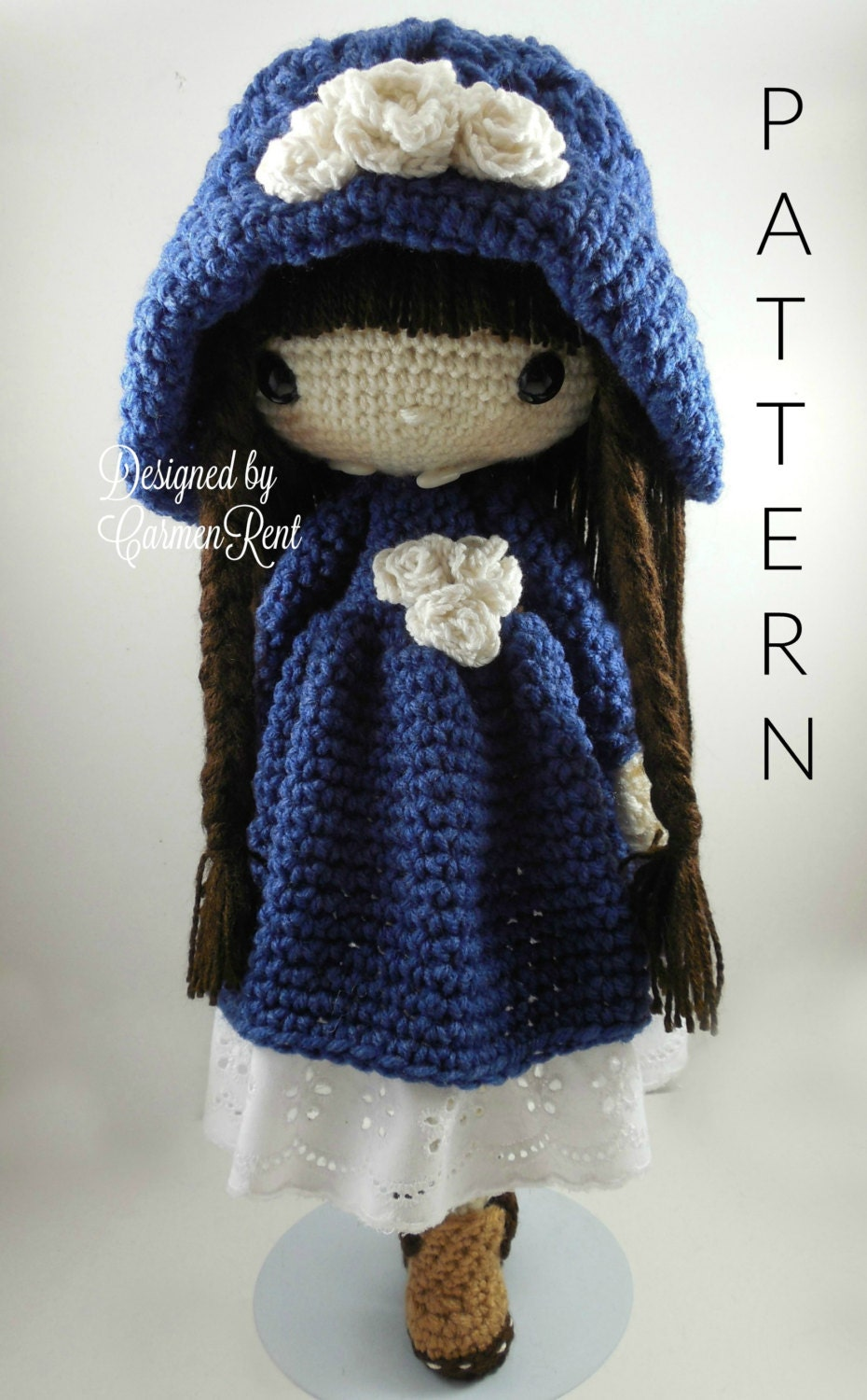 Amigurumi Doll How To : Matilda amigurumi doll crochet pattern pdf