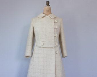 Vintage 1960s I. Magnin Wool Coat