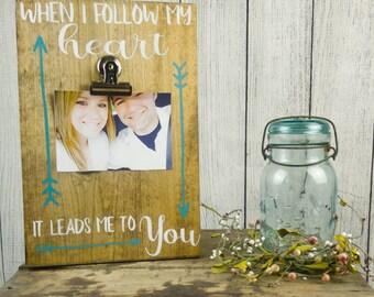 Boyfriend Picture Frame, Valentines Day Gift for Boyfriend, Picture Gift for Boyfriend, Valentine Gift Boyfriend, Photo Gift Boyfriend, 4x6