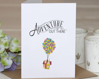 Good bye Card // Good Luck Card // Adventure Card // Disney Up