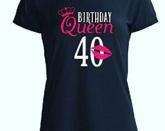 Birthday Queen Tee