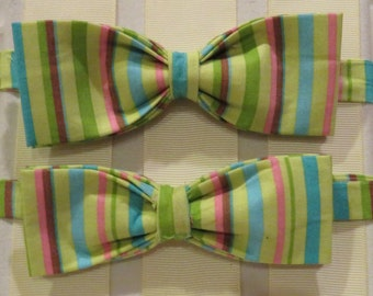 Lime Green Bow Tie