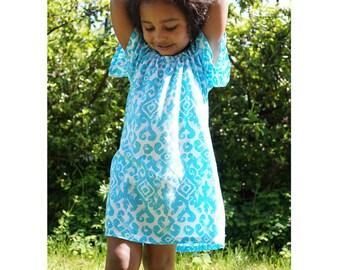 12m Girls peasant dress, girls fall dress, girls' clothing, flower girl dress, toddler fall dress / baby girl dresses / Toddler Dress