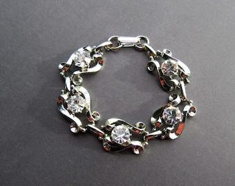 Sparkling Vintage Rhinestone Bracelet