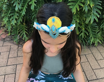 Summer Sun Mermaid Crown