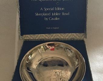 Queen Elizabeth II Jubilee Bowl