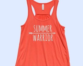 Summer Warrior - Fit or Flowy Tank